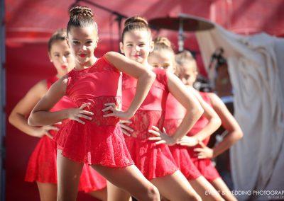 A dance school performance