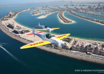 Commercial shoot for DHL in Dubai