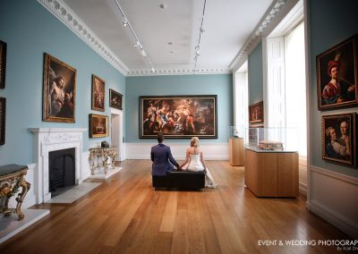 The art gallery at Compton Verney