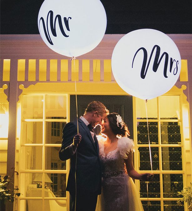 Wedding balloons and party balloons